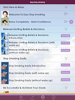Screenshot of Easy Stop Smoking: Quit Today