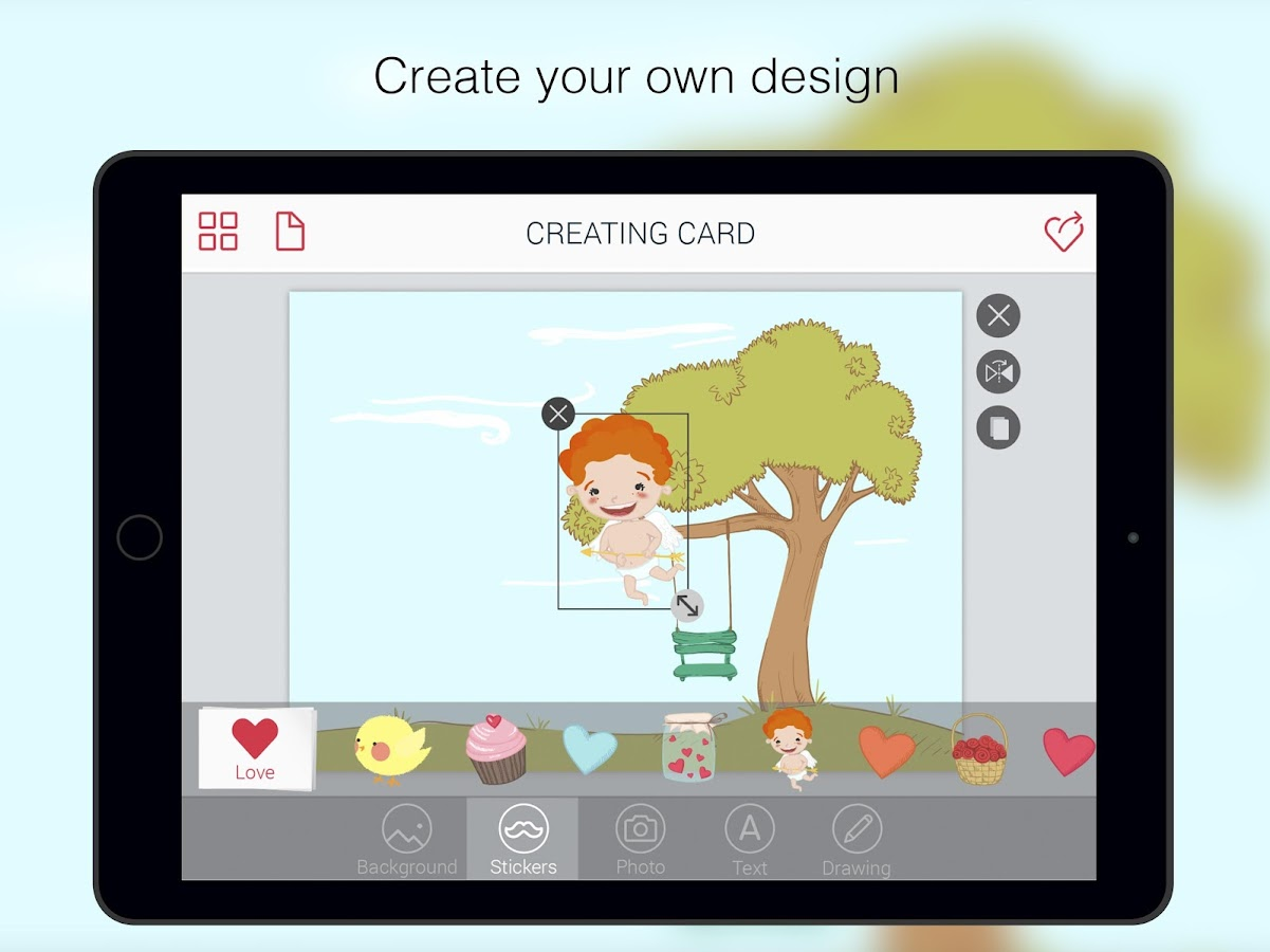 Greeting cards – CardsBuilder- screenshot