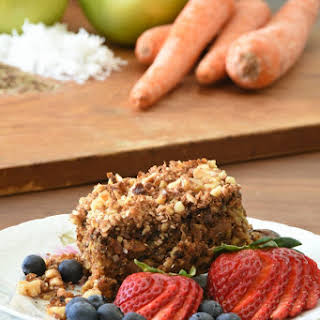 Healthy Apple Carrot Breakfast Bars.