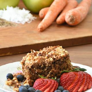 Healthy Apple Carrot Breakfast Bars.