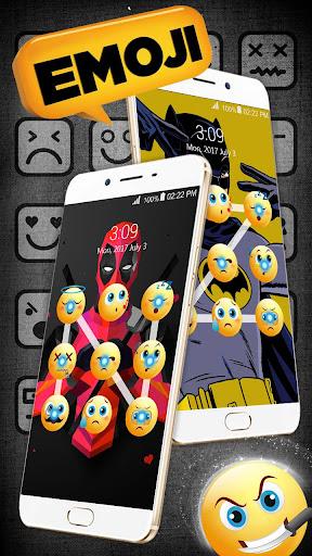 Emoji lock screen pattern 1.2.5 screenshots 2