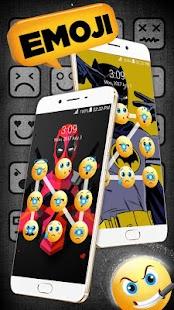 Emoji lock screen pattern - náhled