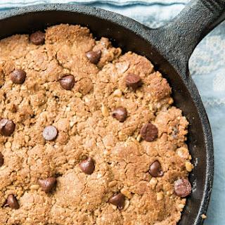 Sunbutter Chocolate Chip Paleo Cookie Skillet