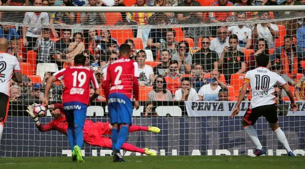 Resultado de imagen de valencia - sporting 1-1