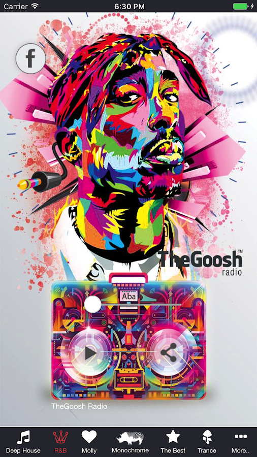TheGoosh Radio- screenshot