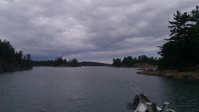 Photo: Getting ready to exit Collins Inlet onward to Killarney