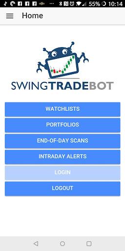 SwingTradeBot Stock Screener & Smart Watchlists by