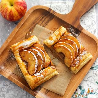 Apple Cinnamon Puff Pastry Tart.