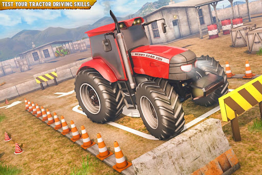 Offroad 3D Tractor Parking Games apklade screenshots 1