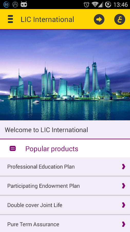 LIC Intl- screenshot