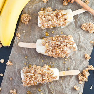 Banana Nut Yogurt Breakfast Pops
