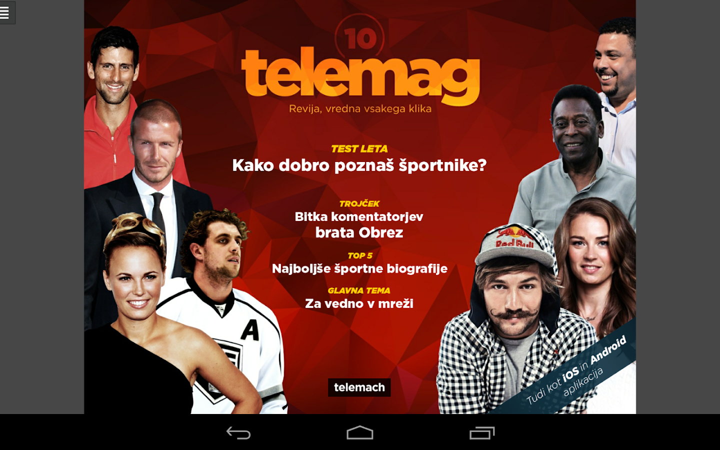 Telemag digital magazine- screenshot