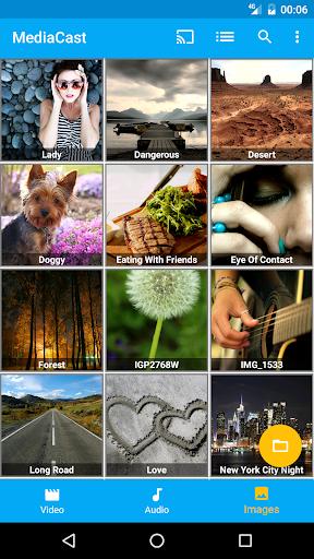 MediaCast - Chromecast Player 1.6.1 screenshots 1