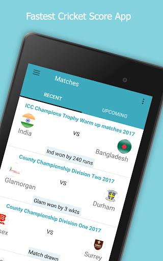 Live Cricket Score 2018 2.2 screenshots 9