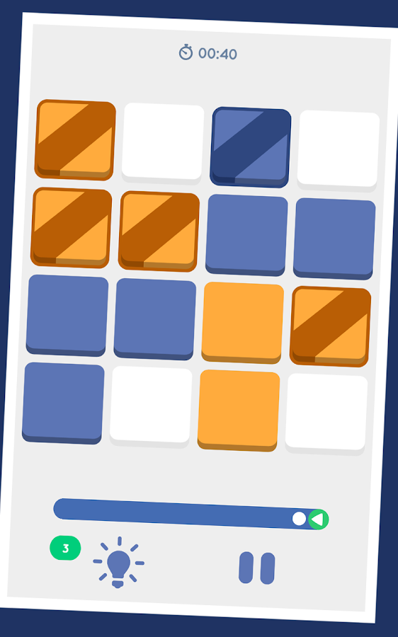 Bicolor Puzzle- screenshot