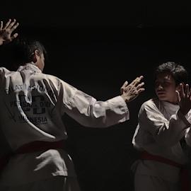duel duo garuda by Robert Antonius - Sports & Fitness Other Sports ( silat, pencak silat, silat nasional perisai diri, perisai diri, garuda )