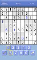 Screenshot of Sudoku Classic