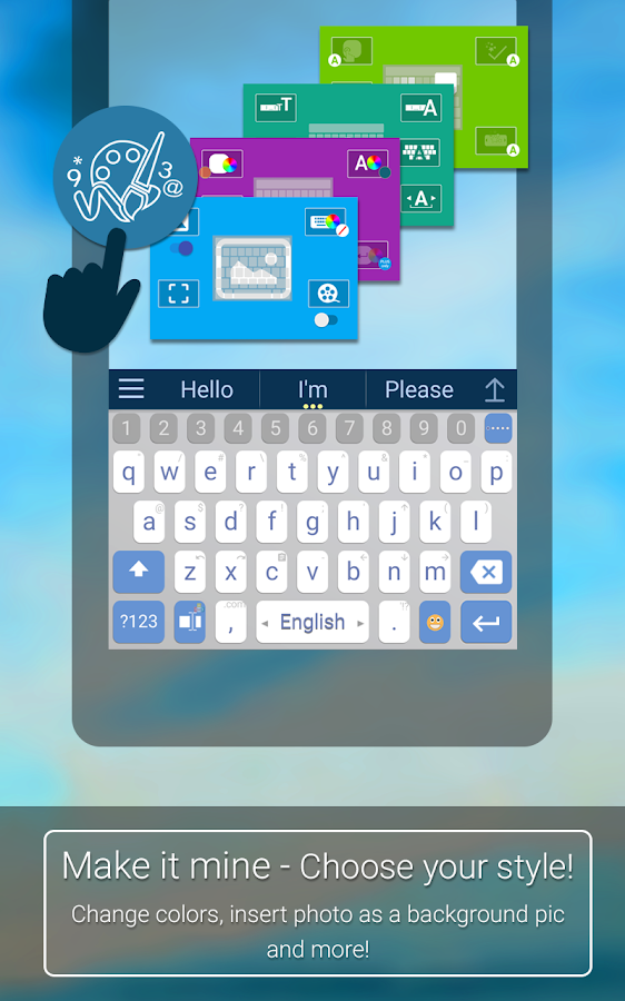 ai.type Free Emoji Keyboard- screenshot