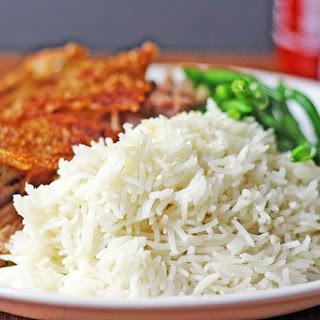 Easy Light Coconut Rice.