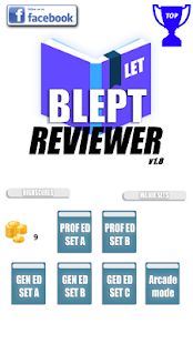 BLEPT Reviewer - náhled