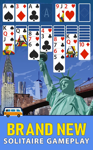 Solitaire Landmark: Brained Out Puzzle Card apkmind screenshots 9