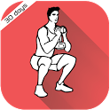 30 Day Butt Workout Challenge - Glutes Exercise icon