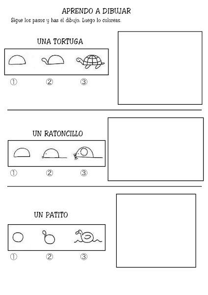 Photo: Aprendo a dibujar-4