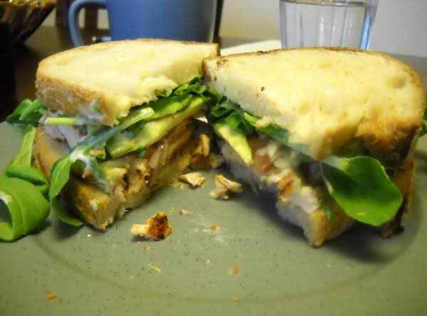 Grilled Chicken Sandwiches W/ Cilantro Lime Mayo