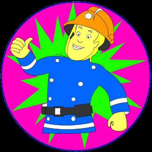 消防官兵游戏 教育 LOGO-玩APPs