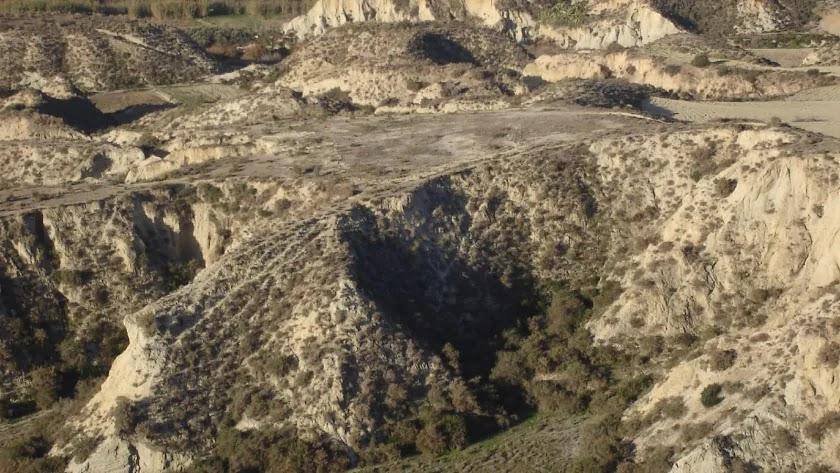 El yacimiento de El Argar, enterrado en un cerro del municipio antuso.