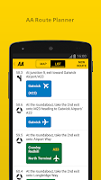 Screenshot of The AA
