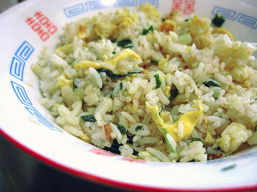 chinese, fried rice, egg, recipe, 蛋炒飯