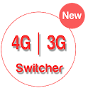 Network Mode 3G 4G Only Swtich icon
