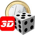 Coins and Dice 3D FREE icon