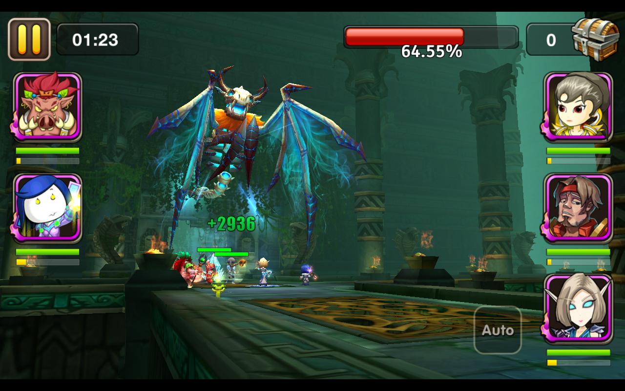 Rush of Heroes screenshot #6