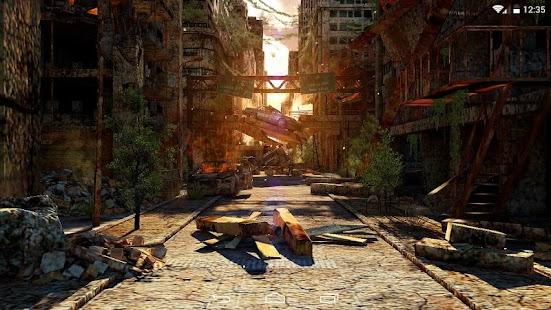 Apocalypse 3D LWP - screenshot thumbnail