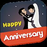 Happy Anniversary Card 2017 icon