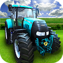 Big Farming Tractor Drive 3D icon