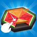 Fruitzle - Folding Hexagon Blocks Puzzle icon