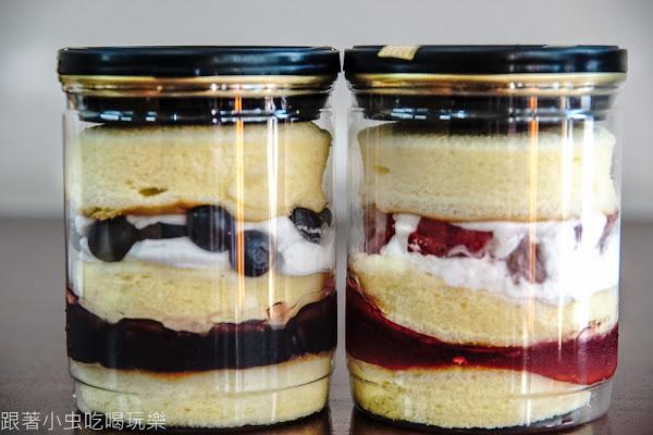 川崎坊菓子烘焙|罐子蛋糕 草莓/藍莓兩種口味