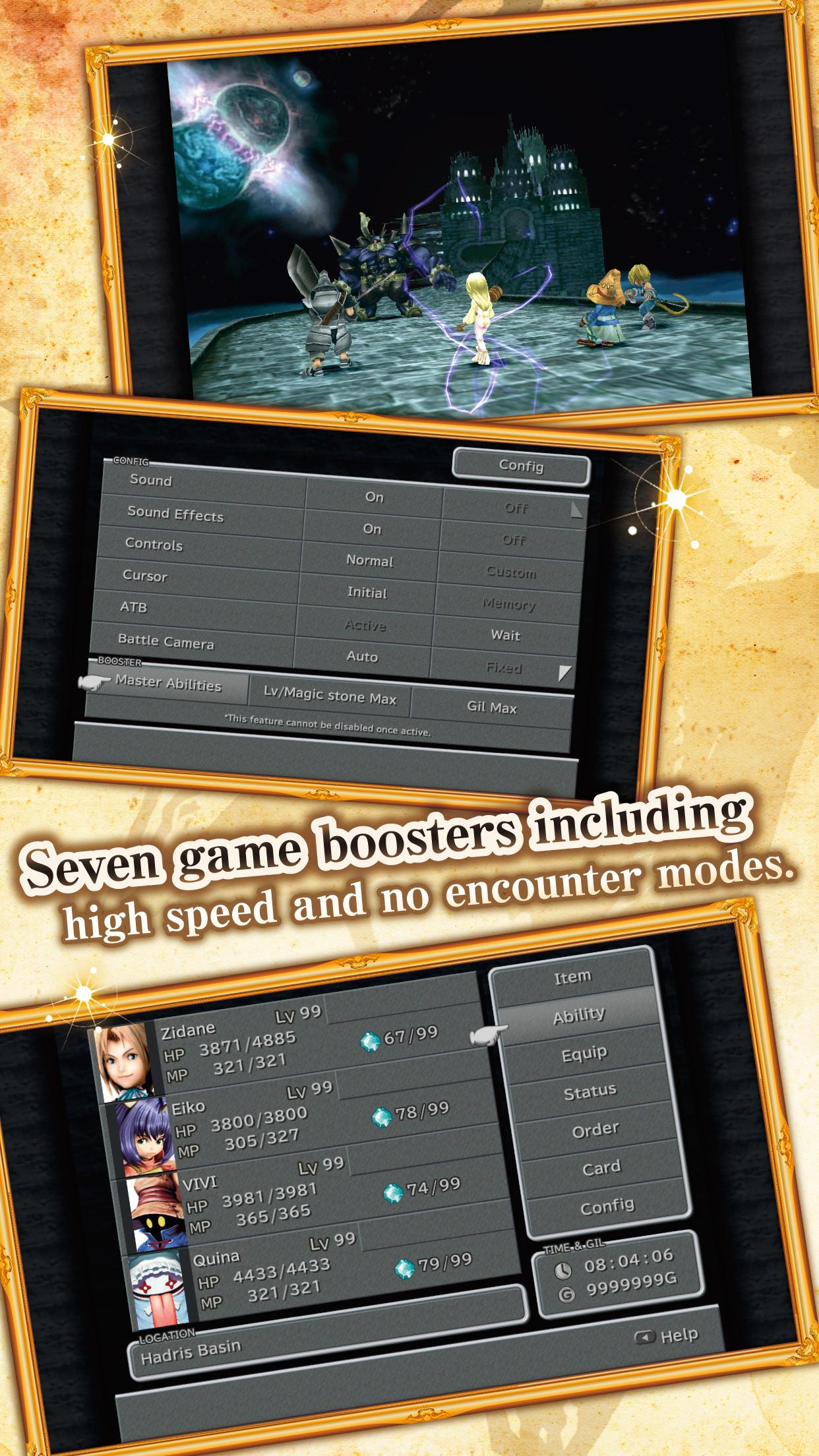FINAL FANTASY IX for Android screenshot #4