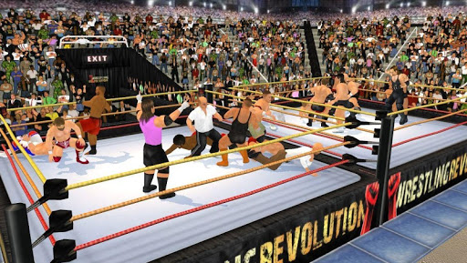 Wrestling Revolution 3D - screenshot