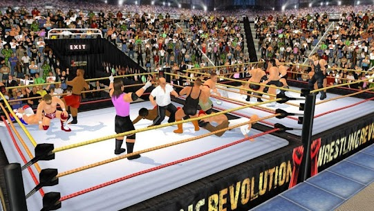 Wrestling Revolution 3D App Download For Android and iPhone 5