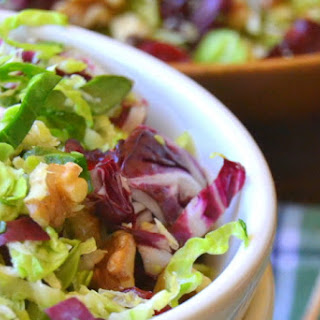 Brussels Sprout Slaw with Maple Cider Vinaigrette Recipe