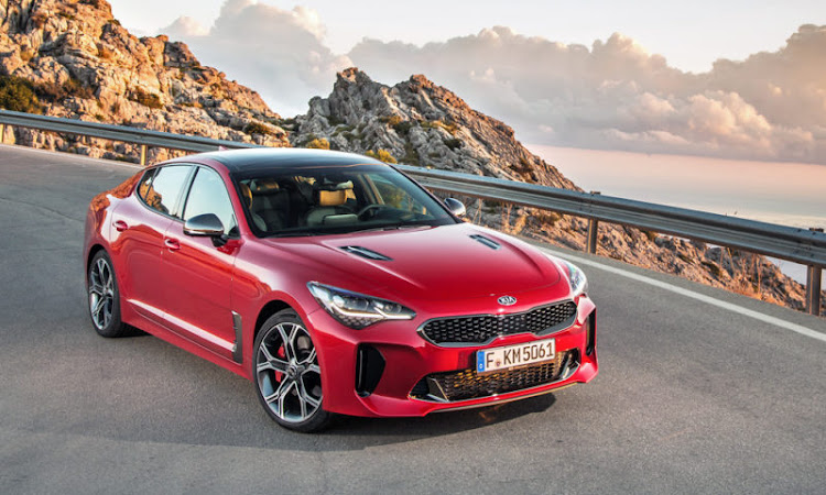 Smoking hot looks for Kia's first gran turismo. Performance is pretty decent too. Picture: SUPPLIED