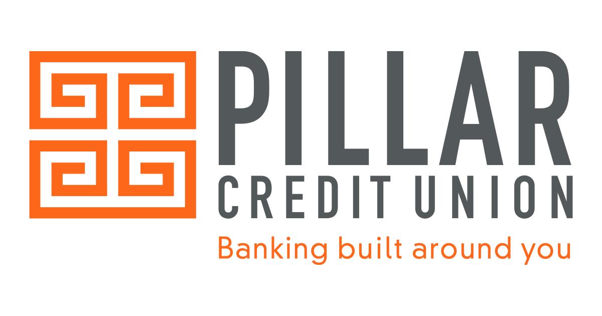 Pillar Credit Union logo - banking built around you