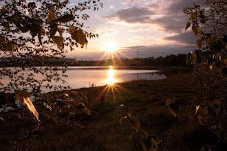 Photo: Doppelter Sonnenuntergang am Gombether -See #365tageinsew www.ur-sew.de/365tage (c) H.J.Pfaff