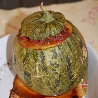 Stuffed Round Zucchini.