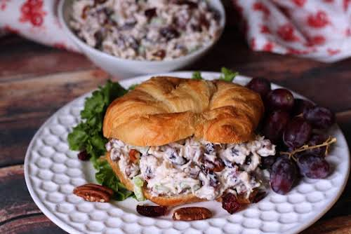 """Cranberry Pecan Chicken Salad """"Chicken salad is one of those things that..."""