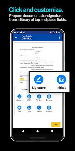 DocuSign - Upload & Sign Docs screenshots 5